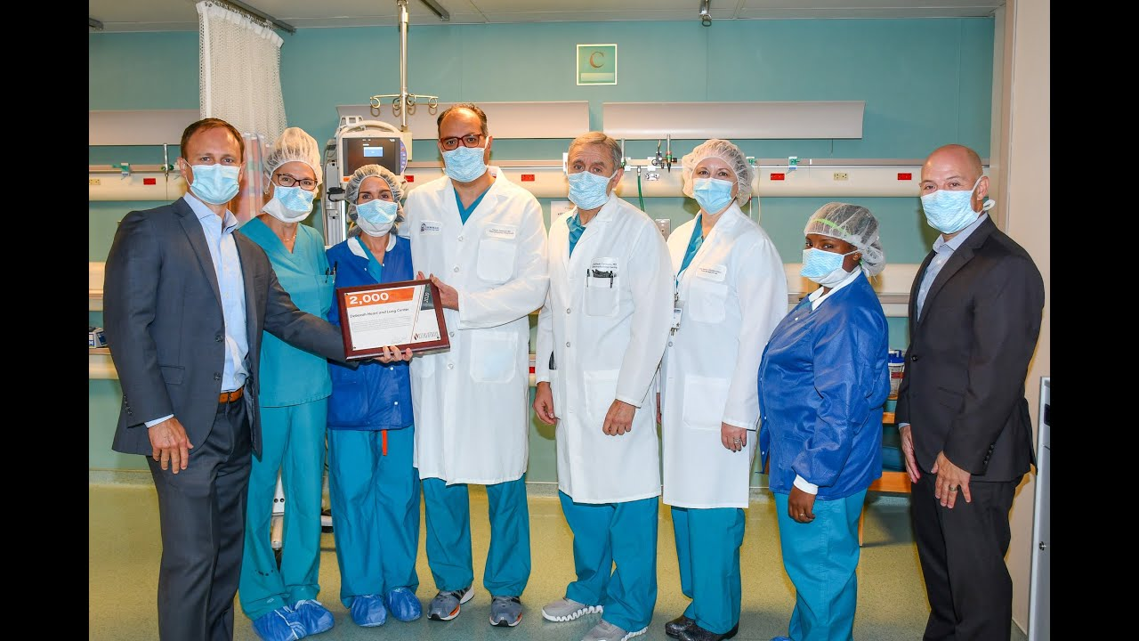 Deborah Performs 2,000 Robotic Cardiac Ablations