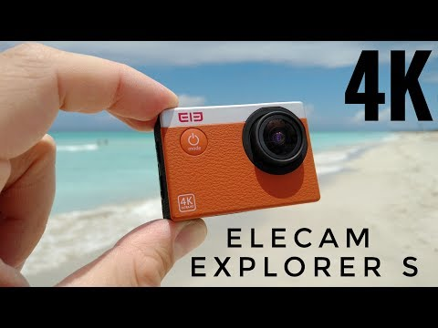 Elecam Explorer S 4K Action Camera REVIEW - Is a $40 camera any good?