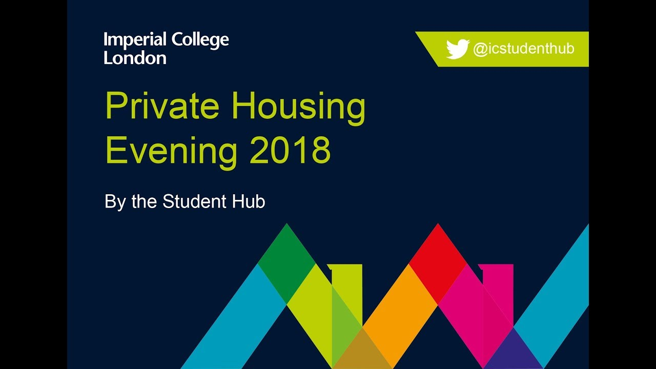 Top tips from Imperial's Student Hub for starting your private accommodation search