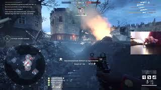 Battlefield 1 |  M1912 Experimental (90-15) | Logitech MX Ergo | Trackball Mouse Handcam