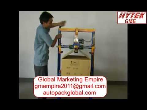 Semi Auto Box and Carton Taping Machine