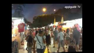preview picture of video 'appiguide torrevieja port at night Costa Blanca Spain'