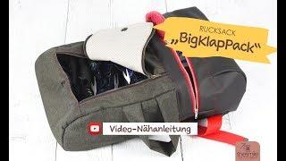 """Rucksack """"BigKlapPack"""" von shesmile (Video-Nähanleitung)"""