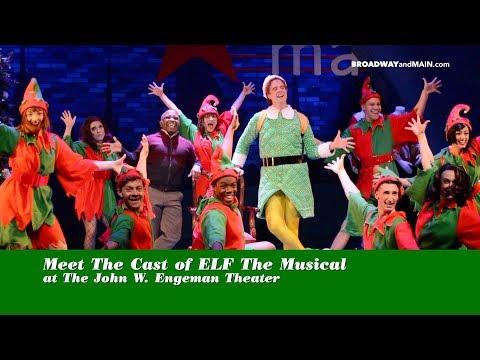 Meet The Cast of ELF The Musical at The John W Engeman Theater