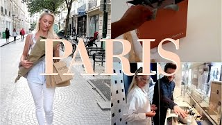 Explore Paris With Me - new store launches & making my own beauty products! |