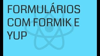 Formik Basics | Building and Validating Forms with Formik