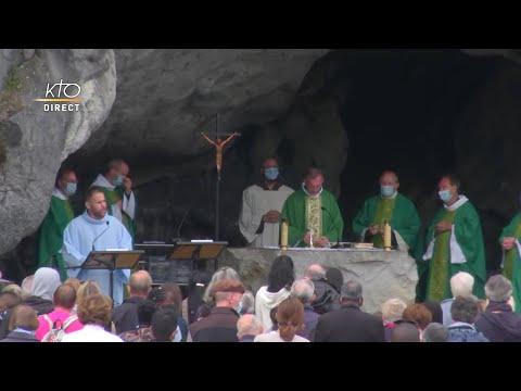 Messe de 10h à Lourdes du 28 juillet 2021