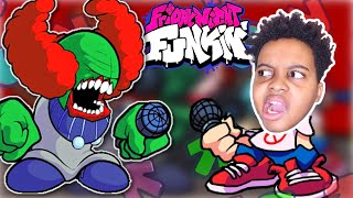 Shiloh Plays FRIDAY NIGHT FUNKIN' TRICKY MOD! - Onyx Squad Gaming Highlights