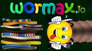 Wormax.io - открытая игра клана FireFive[5] - 04.05.17