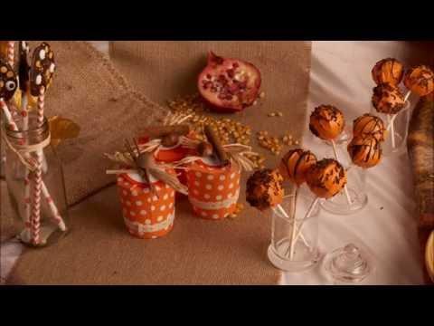 Eine herbstliche Bonbonschale für Halloween basteln