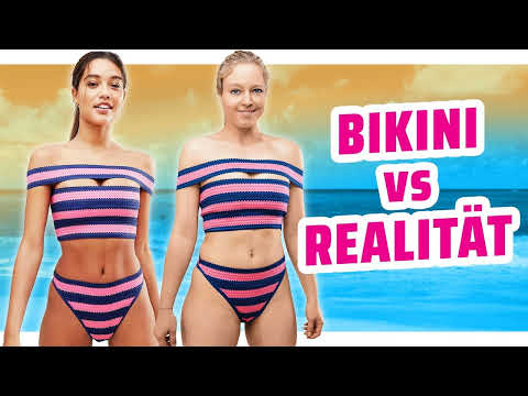 Bikini Mode 2018 im TEST I Werbung VS Realität