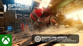 Xbox Space Engineers | Wasteland anuncio