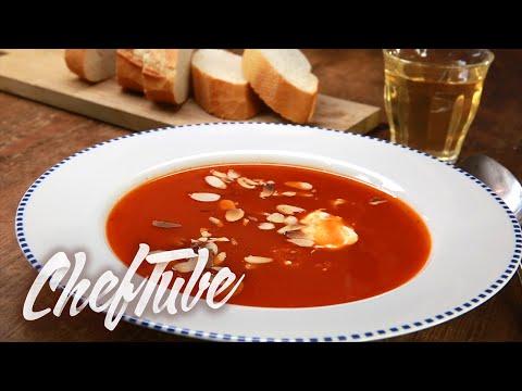 Como Cocinar Sopa De Tomate - Receta en la descripción