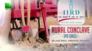 IIRD Shimla – Rural Conclave On Green TV