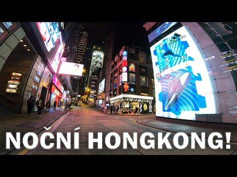 NOČNÍ HONGKONG!