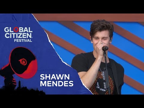 Shawn Mendes Performs There's Nothing Holdin' Me Back | Global Citizen Festival NYC 2018