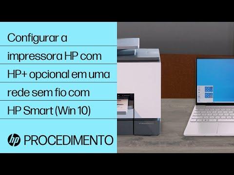 Aprenda a configurar uma impressora HP sem fio usando o HP Smart no Windows 10.