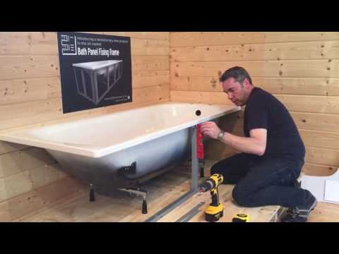 Bath frame fixing instructions, quick, easy, cost effective.