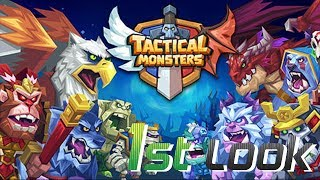 Tactical Monsters Rumble Arena - First Look