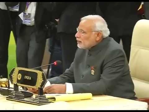 PM Modi addresses the 12th ASEAN-India Summit in Nay Pyi Taw, Myanmar