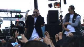 """Shhh!"" DJ Kane (of Kumbia All Starz) & Slim (of Los Super Reyes) at Fort Worth Car Show"