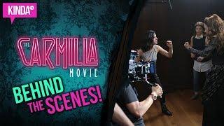 The Carmilla Movie - BEHIND THE SCENES!! | KindaTV