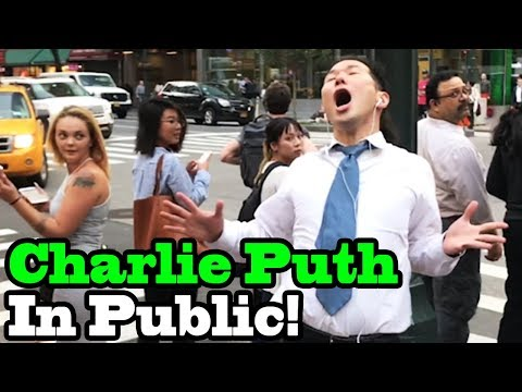 "Charlie Puth - ""How Long"" - SINGING IN PUBLIC!!"