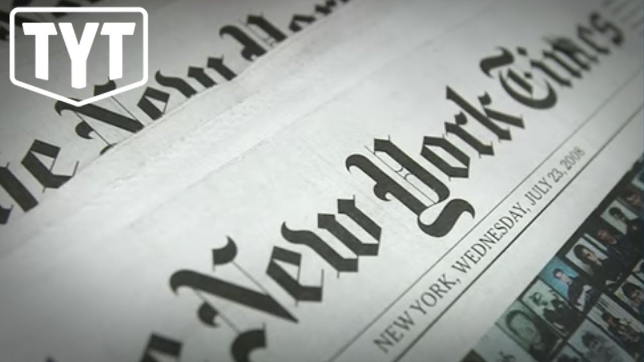 NYT Punishes Editor After Horrific Behavior on Social Media thumbnail