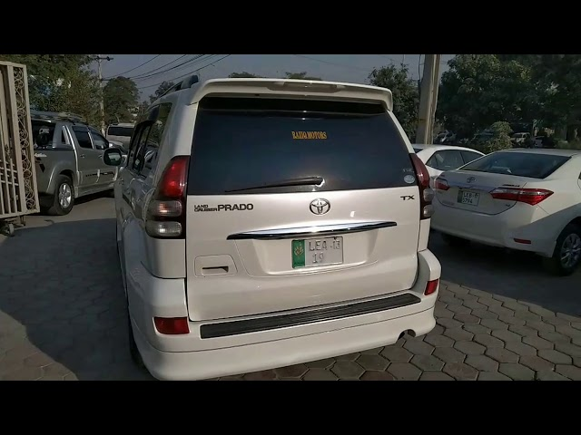 Toyota Prado TX Limited 2.7 2008 for Sale in Lahore
