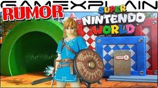 RUMOR: Super Nintendo World Gets Bigger! Zelda Land Set for Universal's Islands of Adventure Park