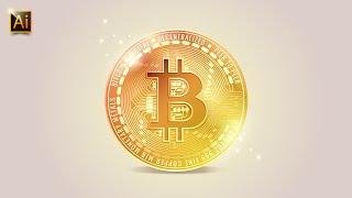 Cryptocurrency-Symbol SVG.