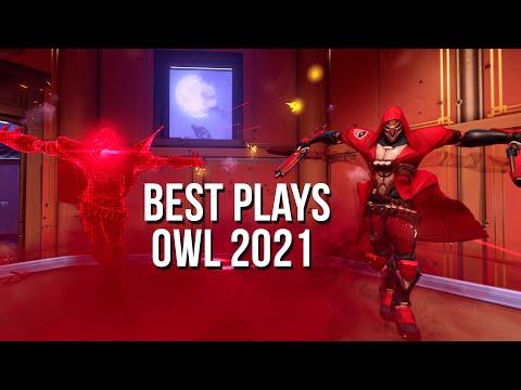 BEST PLAYS OVERWATCH LEAGUE 2021