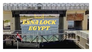 preview picture of video 'Esna lock on the river Nile, Egypt.'