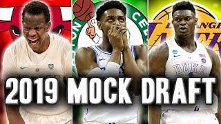 2019 NBA Mock Draft | Lottery Simulator Edition