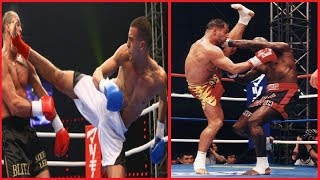 Old But Gold !! Best K1 Fighters Moments With Awesome Knockouts