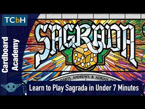 TCbH's Cardboard Academy - How to Play Sagrada in Under 7 Minutes