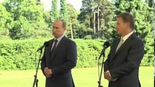 """Путин про Сноудена: """"Это всё равно что стричь поросёнка"""""""