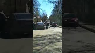 """Разборки"" в Гатчине"