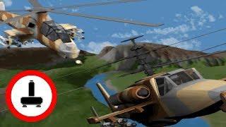 Как это было - симулятор боевого вертолёта 'Comanche' (DOS)