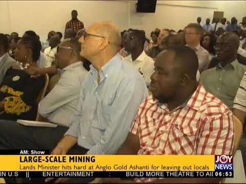Large-Scale Mining - AM Show on JoyNews (29-3-18)