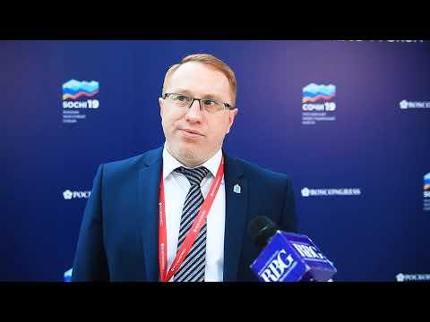Интервью заместителя губернатора Ямала Александра Калинина на Российском инвестиционном форуме