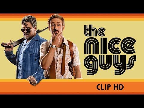 Il porno al centro dell'attenzione nelle due nuove clip di The Nice Guys
