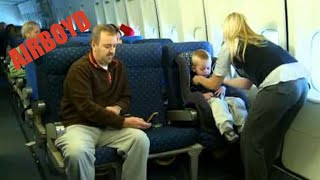 Installing A Car Seat On A Plane (2010)