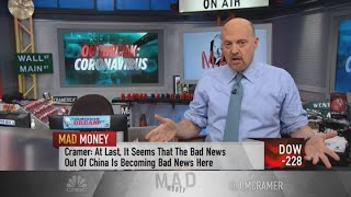 Jim Cramer's week ahead: February could 'end with a nasty whimper'