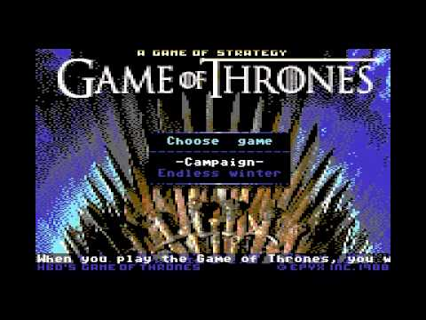 Game Of Thrones On Commodore 64 Is So Crunchy It Makes My Teeth Hurt