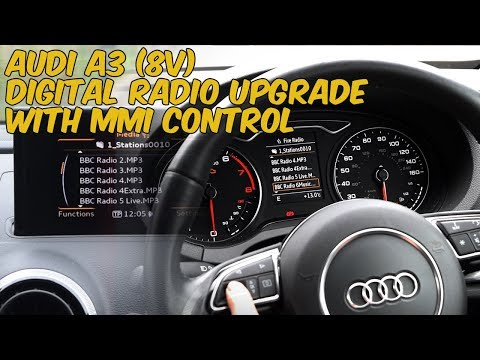 Installation at vehicle - NaviTouch® Android - Audi A3 (8V