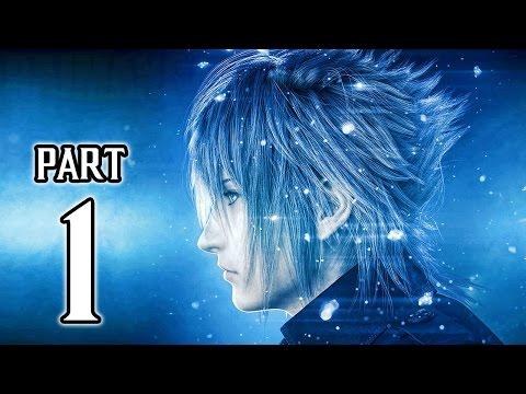 Final Fantasy XV Walkthrough PART 1 (PS4 Pro) No Commentary Gameplay @ 1080p HD ✔