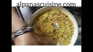 alpanascuisine's Soya Kathi Roll