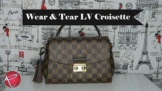 Louis Vuitton Croisette Wear And Tear   Red Ruby Creates