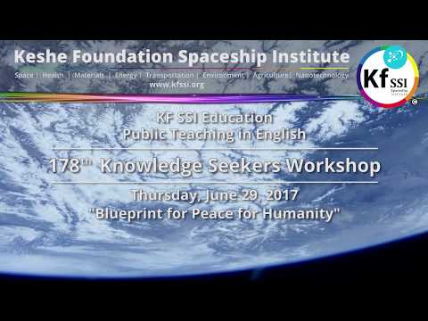 , title : '178th Knowledge Seekers Workshop - Blueprint for Peace for Humanity - Thursday, June 29, 2017